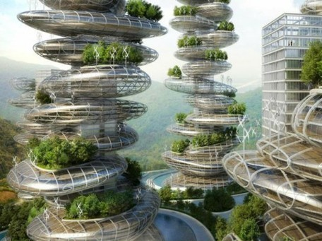 Vincent Callebaut Unveils Stacked Pebble-Inspired Eco-Farmscrapers for Shenzhen | Sustain Our Earth | Scoop.it