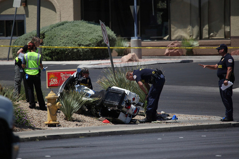 Henderson police officer hurt in motorcycle crash - Las Vegas Review-Journal   Motorcycle How To   Scoop.it