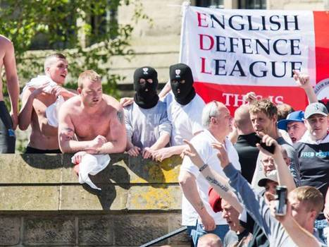 EDL marches on Newcastle as attacks on Muslims increase tenfold in the wake of Woolwich machete attack which killed Drummer Lee Rigby | The Indigenous Uprising of the British Isles | Scoop.it
