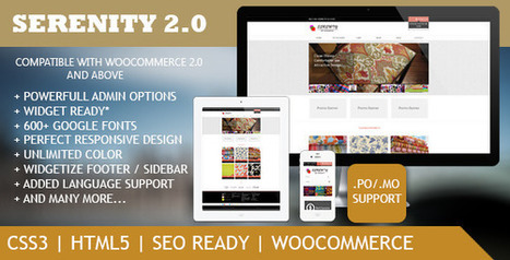 Serenity v1.0 Premium Wordpress eCommerce Theme Download | PremiumTemplatesDownload | PremiumTemplatesDownload | Scoop.it