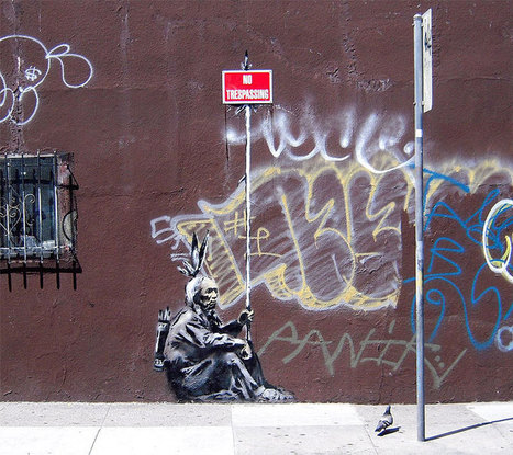 The Ultimate Banksy Gallery (127 photos) | Navigate | Scoop.it