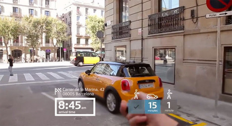 Así se vería Barcelona con las gafas de realidad aumentada de MINI | REALIDAD AUMENTADA Y ENSEÑANZA 3.0 - AUGMENTED REALITY AND TEACHING 3.0 | Scoop.it