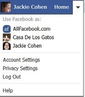 Facebook Page Administrators Get Improved Menu | SM | Scoop.it