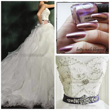 Betty Nails: Fashion November - Nail Polishes for Plus Sized Wedding Dresses #2 pickeddress | Betty Nails | Scoop.it