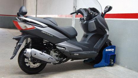 Bunker : l'antivol scooter pour parking sous-terrain - Scooter System | NEWS actus Motorisés | Scoop.it