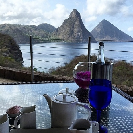 Friday Morning Breakfast With A View | Saint Lucia Tourism | Scoop.it
