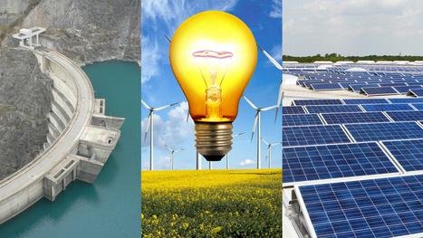 Les énergies propres sont la principale source de production électrique dans l'UE | Territoires en transition, ESS et circuits courts | Scoop.it