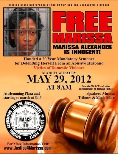 Stand Your Ground Marissa Alexander: Justice For Marissa March & Rally May 29th Jacksonville Florida | Nancy Lockhart, M.J. | Scoop.it