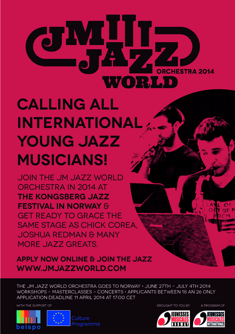 JM Jazz World Orchestra: Looking For This Year's Big Band! | JMI Network | Scoop.it