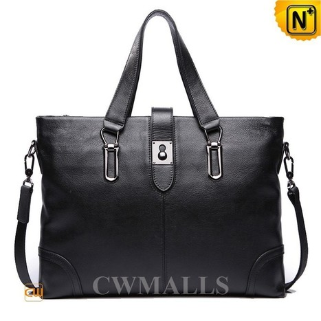 CWMALLS® Leather Business Briefcase Bag CW906336   Mens Business Bags   Scoop.it