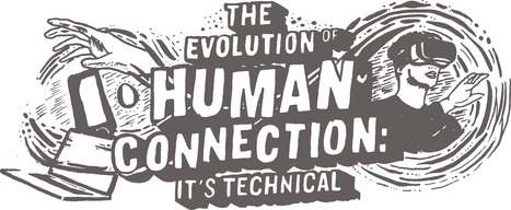 The Evolution of Human Connection - Masterful Interactive e-Book via @Columnfive  | Collaborative Revolution | Scoop.it