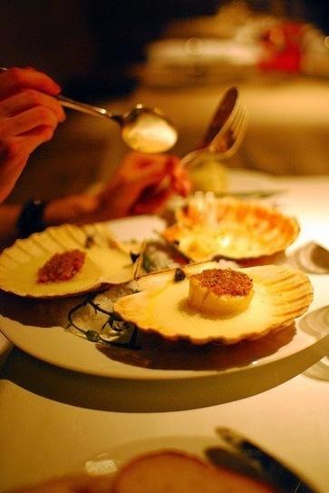 Recette de coquilles Saint-Jacques, pétoncles, sauce champagne, crème | Cuisine du monde | Scoop.it
