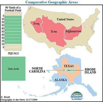 Geographic Calibrations | Mr. Soto's Human Geography | Scoop.it