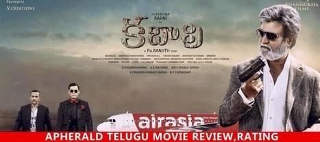 Kabali - Review : SuperStar Rajani Film   A Aa Telugu Movie Review, Rating   Scoop.it