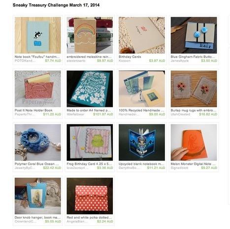 Treasury Spotlight | Jane's Apple | Sell Handmade Online | Scoop.it