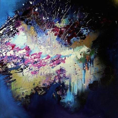 Synesthesia Artist Puts Music to Paintings | Enhanced Music | Scoop.it