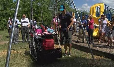 Wheelchair accessible swing unveiled at Madeira park | Disability News Update | Scoop.it