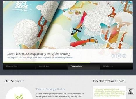 10 WordPress Portfolio Themes | Artatm | Digital Media 101 | Scoop.it