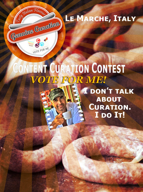 Content Curation Contest - Vote for Me! | Le Marche another Italy | Scoop.it