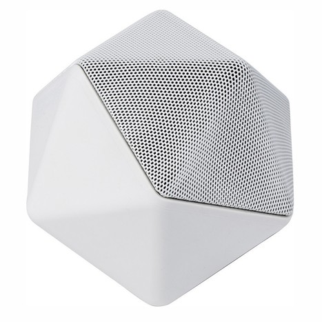 "Une enceinte blanche - Noël : 50 cadeaux design - Elle | BINAURIC ""changing the way people listen to the world"" 