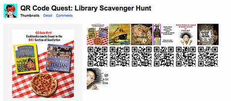 QR Code Quest: a Library Scavenger Hunt | The Daring Librarian | QR-Code and its applications | Scoop.it