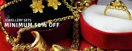 Jewellery Set - MINIMUM 50% OFF , deals fromJewelry and Watches, discount voucher from India | thetradeboss | Scoop.it