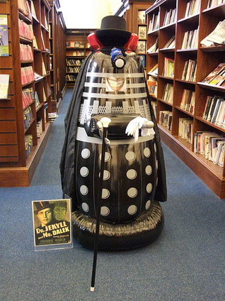 The literary Dalek of Edinburgh Central Library | Today's Edinburgh News | Scoop.it