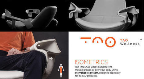 The TAO Chair: invisible household gym | Stock News Desk | Scoop.it
