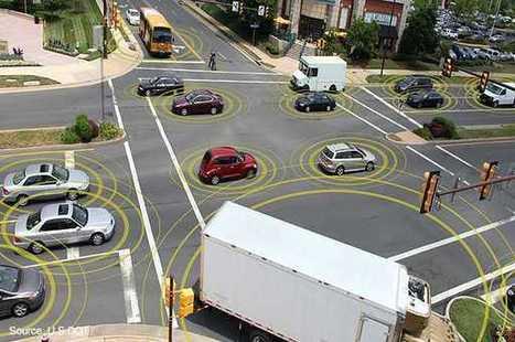 USA: KFZ-Vernetzung wird Pflicht, doch vernetzte Straßen sind teuer   heise online   Intelligente Netze   Scoop.it