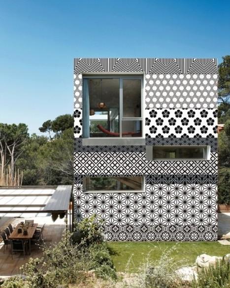 Du nouveau pour la maison : le papier peint d'extérieur ! | Immobilier | Scoop.it