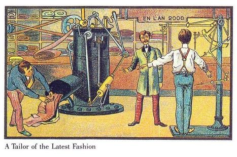 What people in 1900 thought the year 2000 would look like | Social Studies Education | Scoop.it