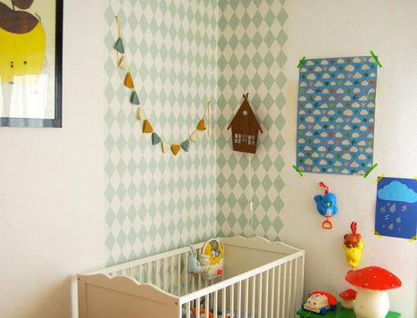 Les chambres d'enfants vues par les blogueuses - Femme Actuelle | decoration chambre enfant | Scoop.it