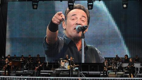 "Bruce Springsteen est aussi le ""Boss"" au Stade de France - France 2 | Bruce Springsteen | Scoop.it"