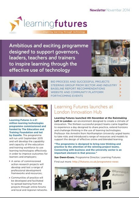 Welcome to Learning Futures | Learning and Development in the future | Scoop.it