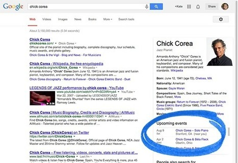 Musical Artists: Specify your events to Google - Webmaster Tools Help | African Music. | Scoop.it