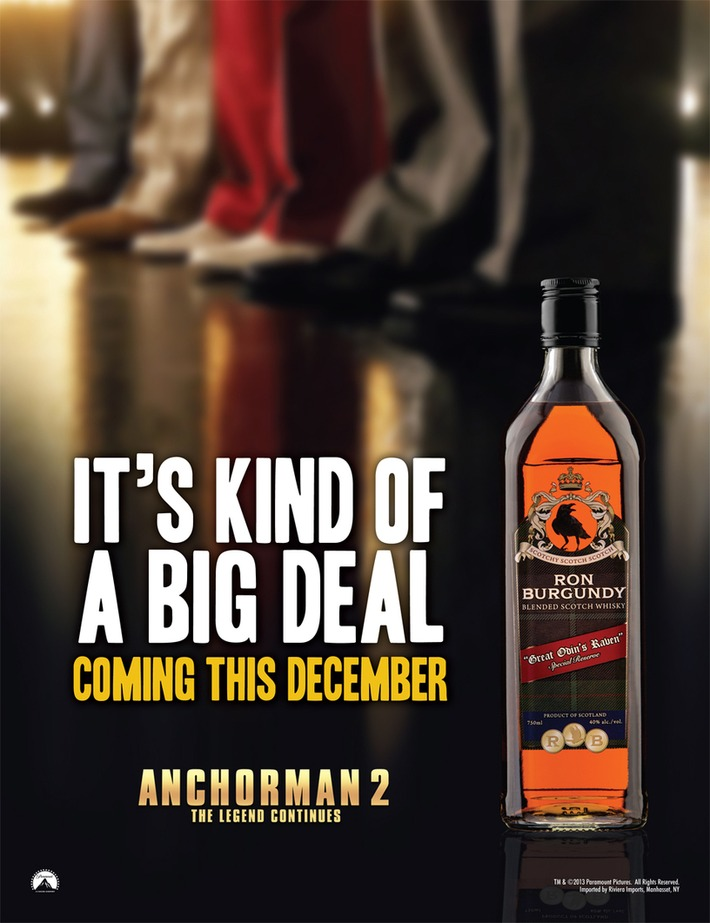 Ron Burgundy Scotch | A Marketing Mix | Scoop.it