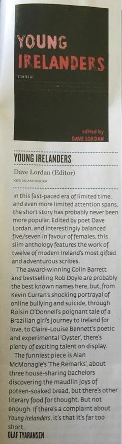 Olaf Tyransen reviews Young Irelanders in Hot Press Magazine | The Irish Literary Times | Scoop.it
