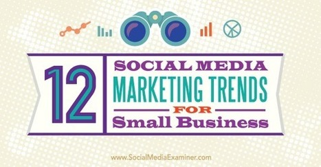 12 Social Media Marketing Trends for Small Business : Social Media Examiner | Reading Pool | Scoop.it