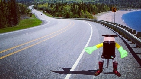 Meet HitchBot: Friendly robot to hitchhike across Canada | Design Arena | Scoop.it