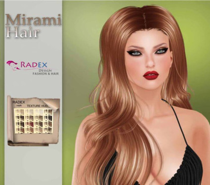 nessmarket: (via Free Mirami Hair Gift -... - BCM! | 亗 Second Life Freebies Addiction & More 亗 | Scoop.it