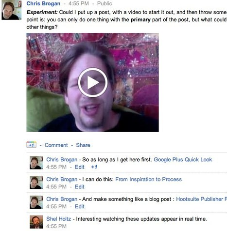 How to Blog With Google Plus   How to use Google+ in your internet marketing + content strategy   Scoop.it