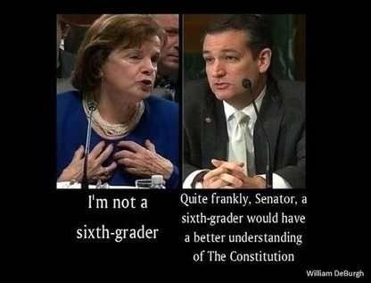 LOL Is this really what Ted Cruz told Dianne Feinstein today? | Littlebytesnews Current Events | Scoop.it