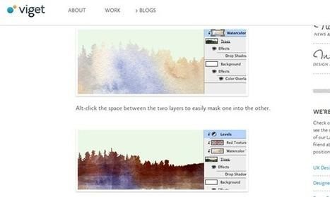 30 Adobe Photoshop & Illustrator Tutorials for Web Designers | SpyreStudios | photoshop ressources | Scoop.it