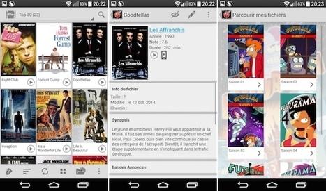 Freebox Ciné, une app qui affiche les infos des films stockés sur votre box | Free Mobile, Orange, SFR et Bouygues Télécom, etc. | Scoop.it