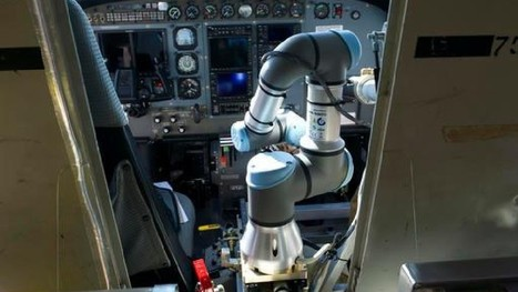 Plane takes off from Va. airport with a robot as pilot | TheFutureIsNow | Scoop.it