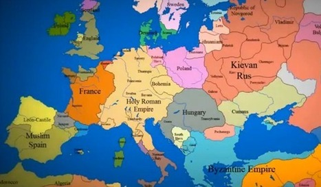 Watch 1000 Years of European Borders Change In 3 Minutes | Historical Updates | Scoop.it