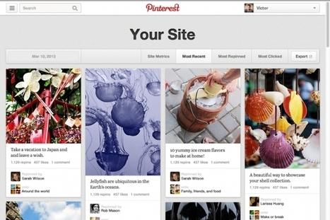 Pinterest Launches Web Analytics to Track Popular Content | Digital - Advertising Age | Social Media Marketing and Actions | Scoop.it