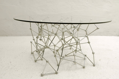 Extremely cool table!  Casamidy - Molecular Console Table | Neat stuff | Scoop.it