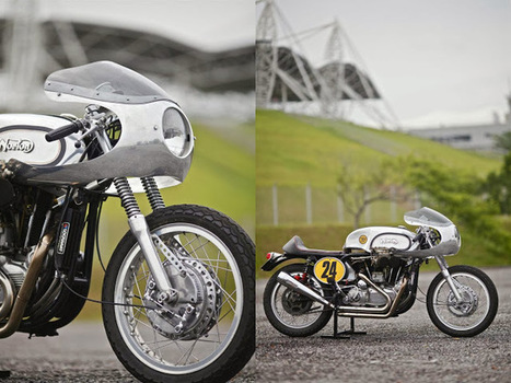 Sporton Norley Cafe Racer | Cafe Racers | Scoop.it