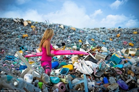 Incredible photos show mountains of plastic bottles washed in Maldives | AP HUMAN GEOGRAPHY DIGITAL  STUDY: MIKE BUSARELLO | Scoop.it